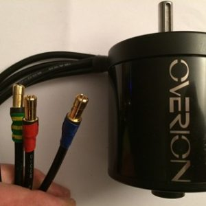 Overion 6374 130kv brushless sensored closed