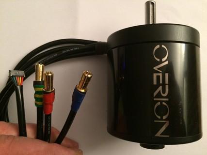 Overion 6374 130kv brushless sensored closed