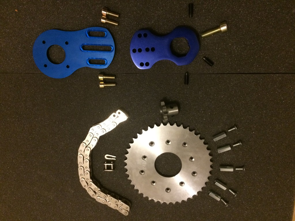 Kit Overion motor mount+transmission pour Matrix2 (Copier)