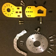 Kit Overion motor mount+transmission pour Vector (Copier)