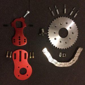 Kit Overion motor mount+transmission pour Vertigo (Copier)