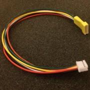 Cable sensor 6 pins JST XHfemelle-JST-ZH male