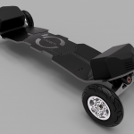 Ultimate Overion Electric Mountainboards, Ready to Run 6S or 12S, 2WD or 4WD